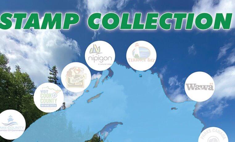 2021 Lake Superior Circle Tour Stamp Sheet